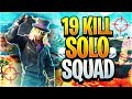 Download Video Download 19 Kill Solo Squads in Fortnite: Battle Royale! (First Attempt EVER!) 3GP MP4 FLV