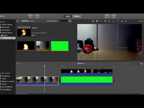 How to Remove the background of a muzzle flash (iMovie 10.0.6)
