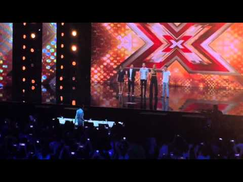 Xfactor auditions Wembley 20 July 2015