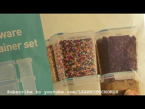 Air Tight Storage Containers for SUGAR FLOUR BAKING KITCHEN FOOD REVIEW