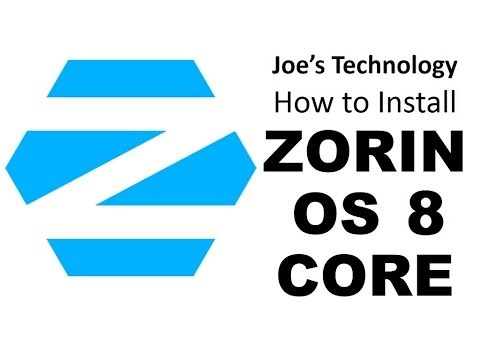 Linux Step by Step: How To Install Zorin 8 64-bit Core, a good replacement for Windows XP