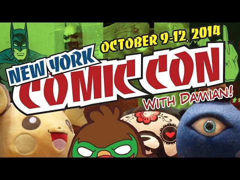 This is not a New York Comic Con tutorial