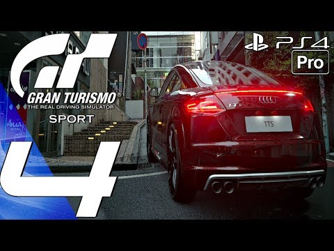 Gran Turismo Sport - Gameplay Walkthrough Part 4 - TT Tourist Trophy (Career Mode) PS4 PRO