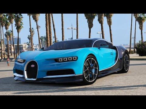 Bugatti Chiron  - Grand Theft Auto V[Addons car]