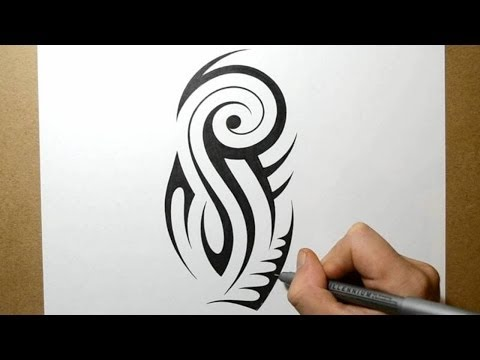 Designing a Tribal Upper Arm Half Sleeve - Tattoo Design 2