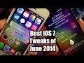 Best iOS 7 Cydia Tweaks for June 2014