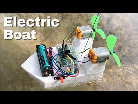 How to Make a Mini RC Boat - Easy to Build