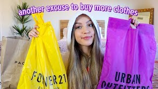 HUGE back to school clothing haul 2019 (try-on!)