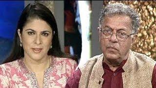 Girish Karnad's attack on 'anti-Muslim' VS Naipaul