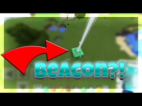 [0.16.1] HOW TO ACTIVATE THE BEACON IN MCPE (Minecraft-PE)