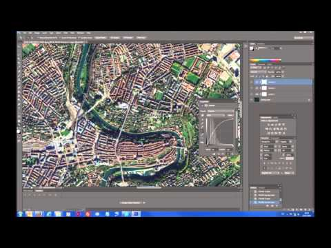 TUTORIAL: How to enhance satellite image with Photoshop