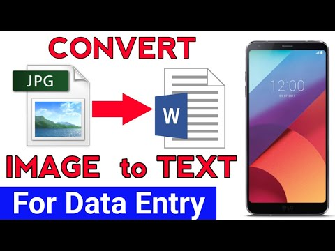 How To Convert Image to Text in Mobile (Image to Text Conversion) [Hindi]
