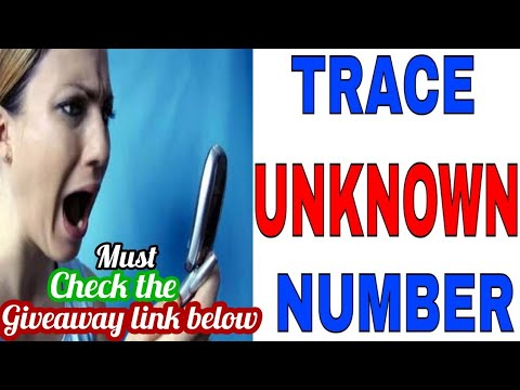 How to trace a unknown number with name, location, address and photo