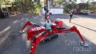 Zone Group - Mini Crawler Crane / Spider Crane 424