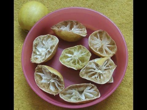 dry lemon peel uses