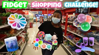 Fidget Toys Slime Shopping At Walmart | I'll Buy Anything You Can Carry Challenge