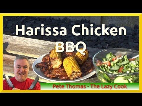 Harissa Chicken BBQ - Visit to Llanfairfechan