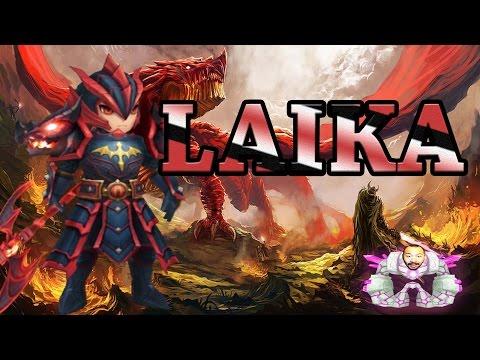 Summoners War: Fire Dragon Knight (Laika)