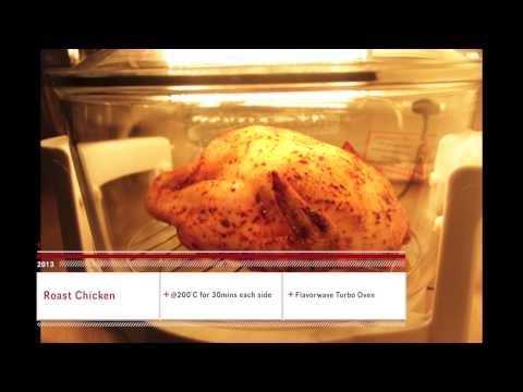 Whole Roast Chicken with Flavorwave Turbo Oven