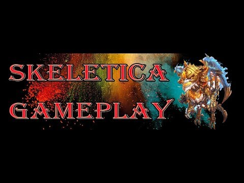 Castle Clash: Devo Skeletica 10/10 Skills 8/8 Scorch Gameplay and Review