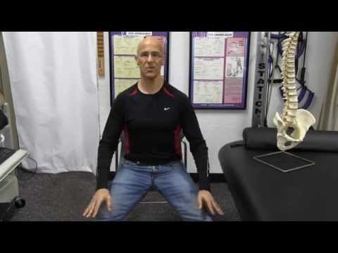 Seated Chair Stretch for Low Back Pain, Muscle Spasm, Tight Hamstrings, Pinched Nerve - Dr Mandell