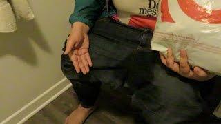 SHE PEED HER PANTS!!