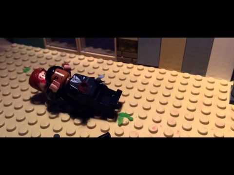 Lego Casino Royale Stairway Scene