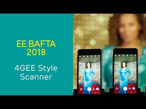 EE - 4GEE Style Scanner - BAFTA 2018