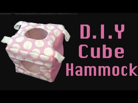 Rat Cube Hammock Tutorial!