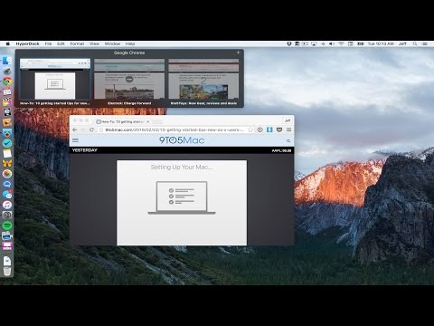 HyperDock: Add app preview windows to the Dock on OS X