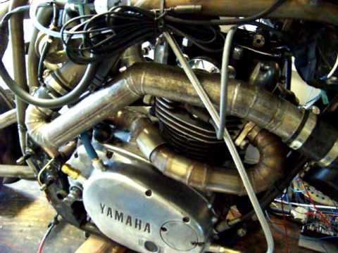 Turbocharged/fuel injected XS650 It runs!