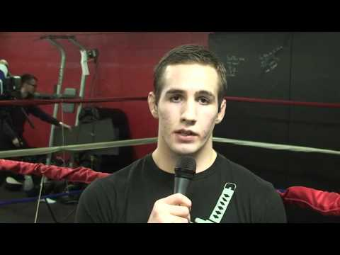 UFC Fighter Rory Macdonald Interview at Warrior Fight Store in Whitby ON by Timothy West