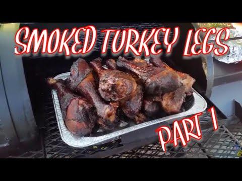 Smoke Turkey Legs BBQ MIKE'S Style