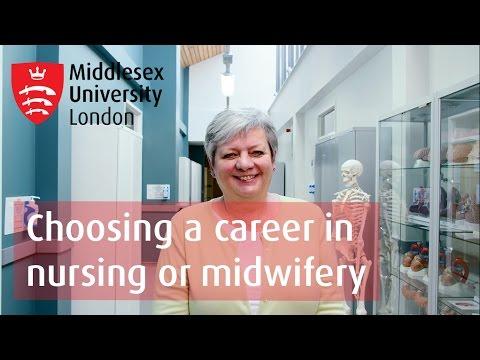 Choosing a career in nursing or midwifery