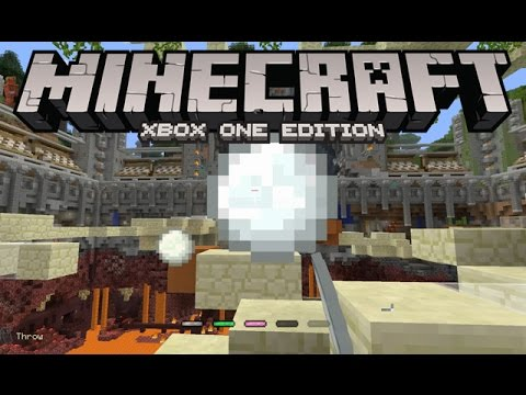 Minecraft: Xbox One Edition [Snowball to YO FACE!!!] - TUMBLE