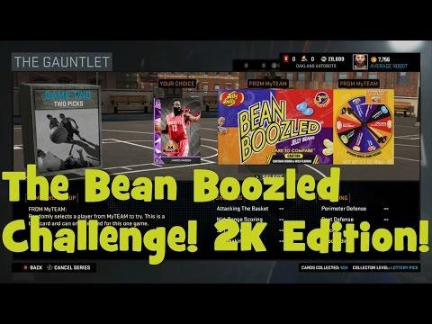 Bean Boozled Challenge NBA 2K16 Edition!