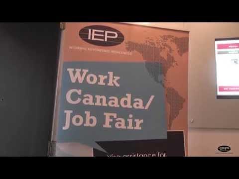 A look at Work Canada Job Fair   IEP Australia & New Zealand