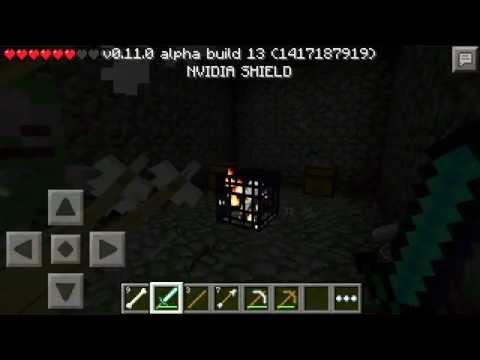 Minecraft Pocket Edition - Find Diamonds Fast, Surface Mineshaft and Dungeon (MCPE 0.11.0)