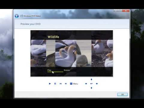 Burning Playable DVDs with Windows DVD Maker