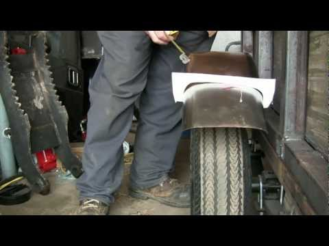 TRAILER BUILD 15 fitting the fenders and super bonus footage at the end