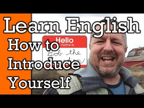 Learn How to Introduce Yourself in English | Video with Subtitles