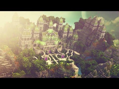 Ground Haven - Entity Builds Minecraft Server Hub Build