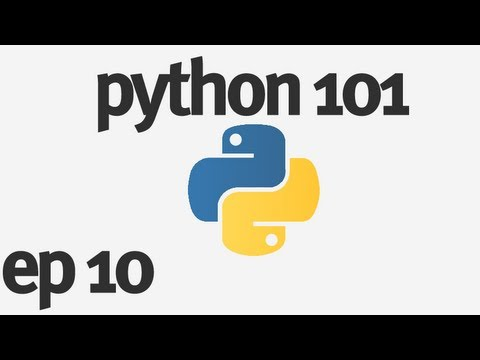 Python 101 - Making a Window