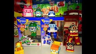 Киндеры с Игрушками Робокар Поли обзор на русском языке.unboxing Kinder Eggs Roboсar Poli Toys