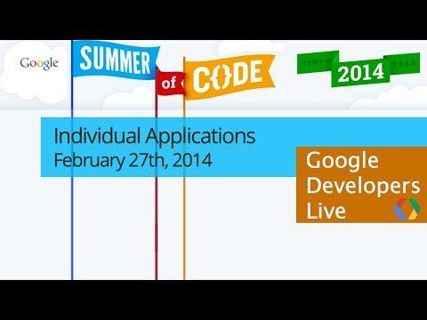 Google Summer of Code: Student Application Process