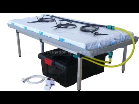 Drip irrigation system for g-tools 600 Wing growbox