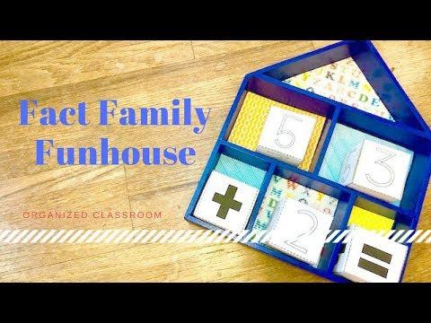 Fact Family Classroom Craft!