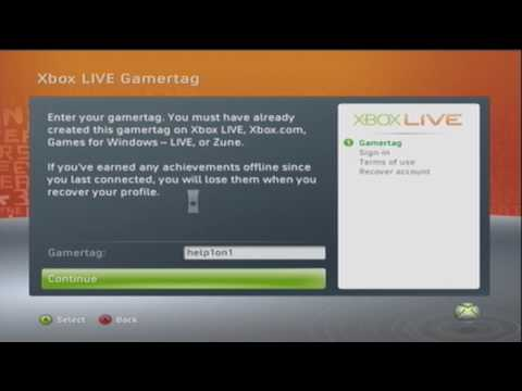 How to Recover XBOX Live Gamertag [XBOX 360 V1]