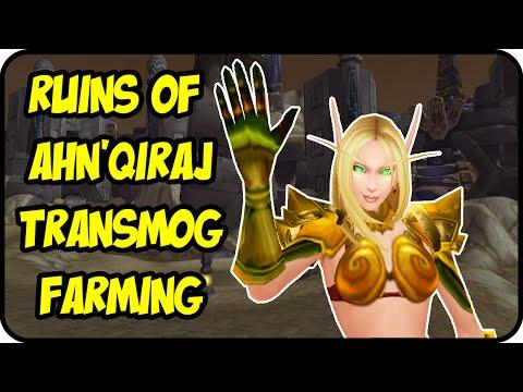 WoW Gold Farming Patch 6.2.4: Ruins of Ahn'Qiraj Gold Making - Transmog Farming Guide - WoD Gold