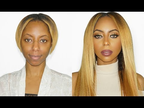 Basic to BEYONCE Hair and Makeup tutorial!! | Jessica Pettway